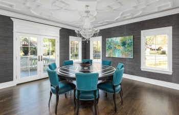 Dining Room Ceiling