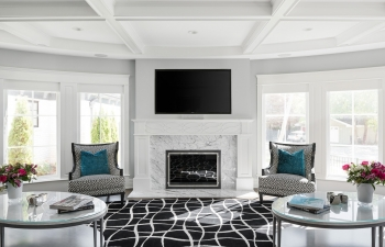 Family Room Fire Place
