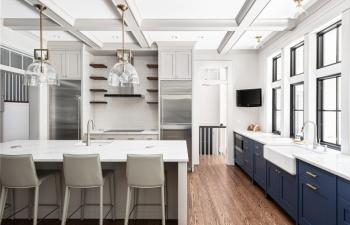 Luxury Kitchen Renovation in Glen Ellyn