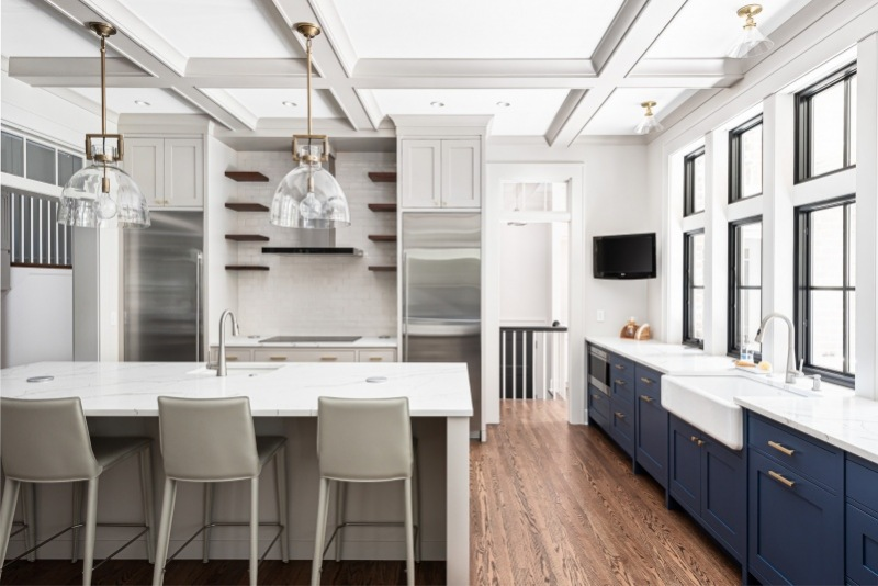 Luxury Kitchen Renovation in Glen Ellyn