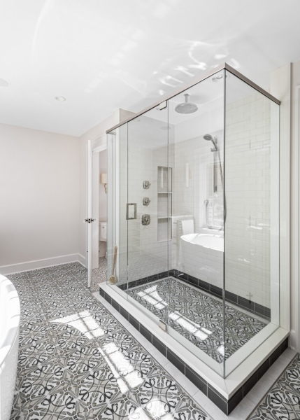 The Shower Floor
