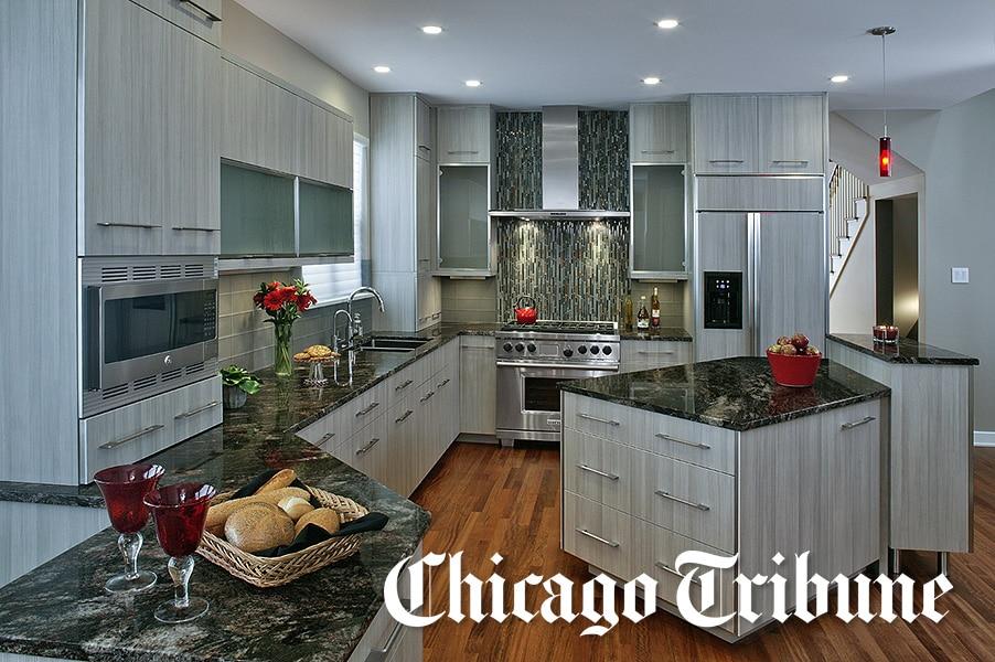 Chicago Tribune Profiles Schaumburg IL Kitchen Remodel