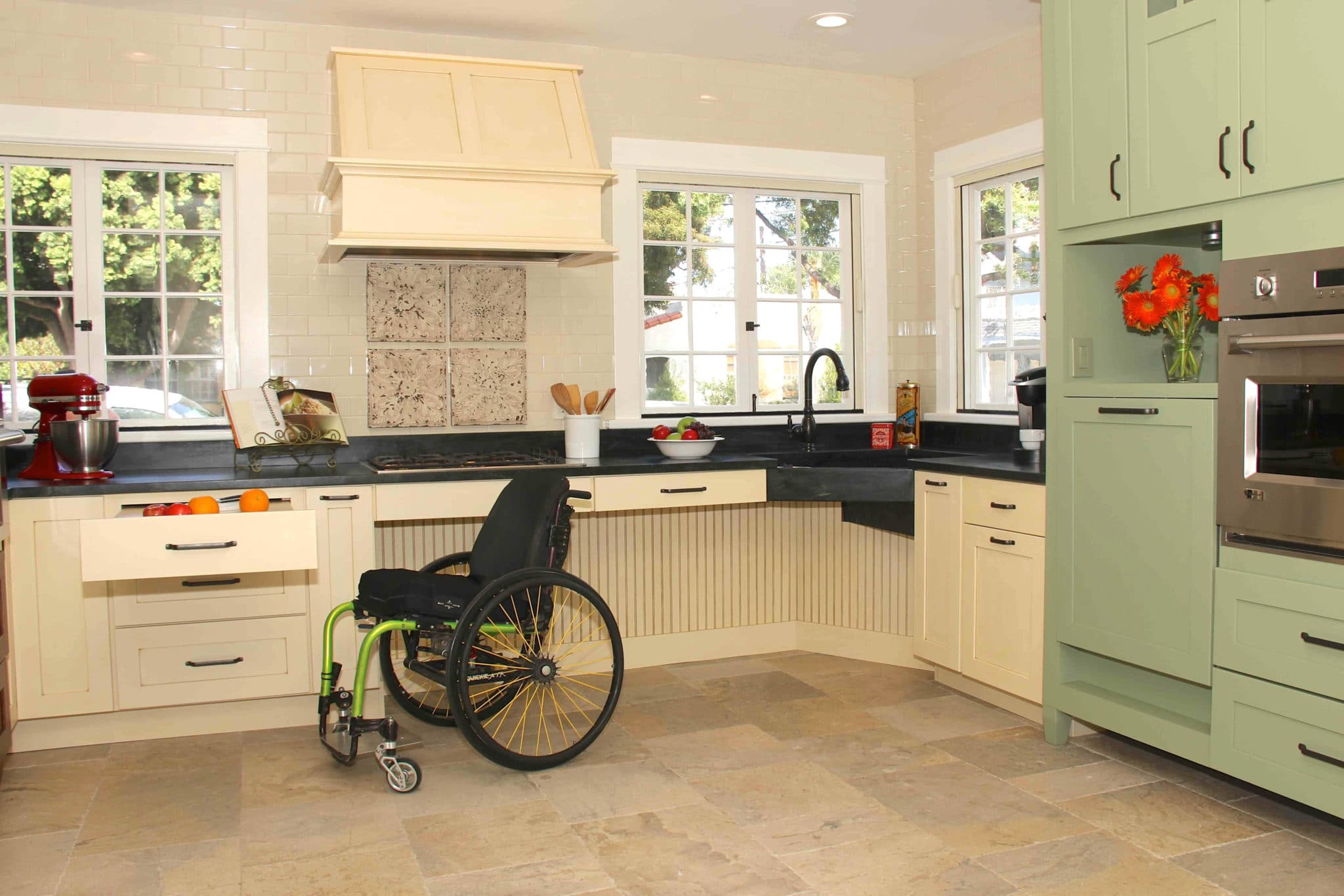 accessible kitchen design 12 kitchen remodeling tips aging in place in geneva il 1145