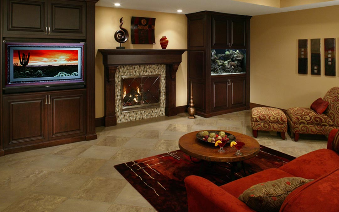 LL Family Room Living Spaces
