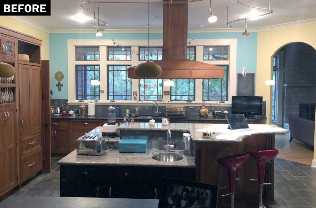 Before Kitchen Remodel in Glen Ellyn