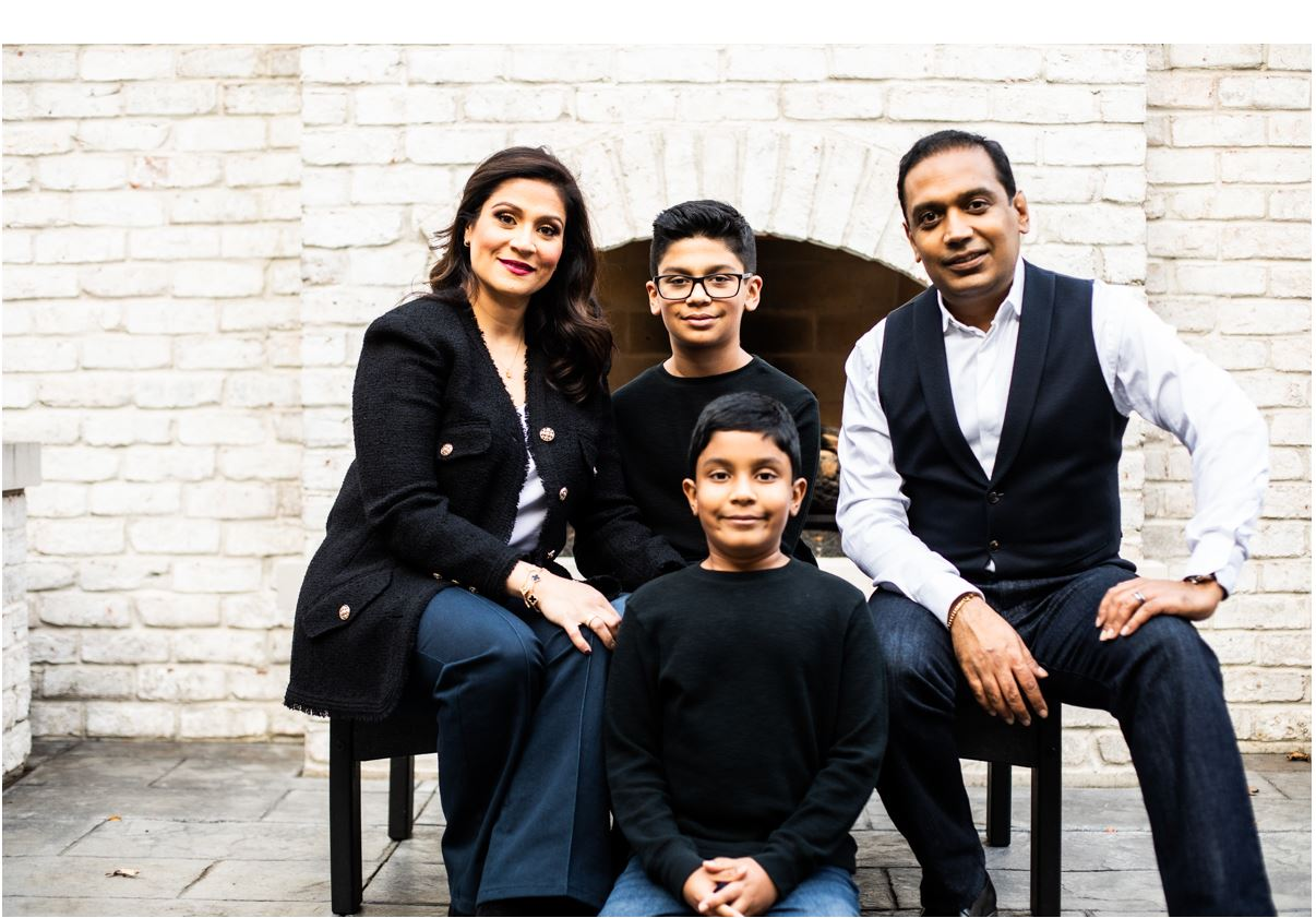 Shah Family Pic 2